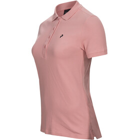 Peak Performance W's Classic Pique Shirt Warm Blush